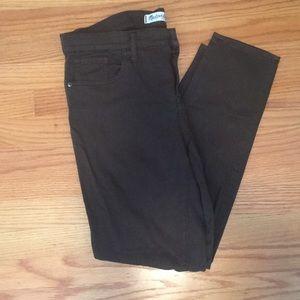 Madewell J Crew Green Skinny Skinny Pant Size 32